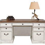 66 Double Ped Exec Desk