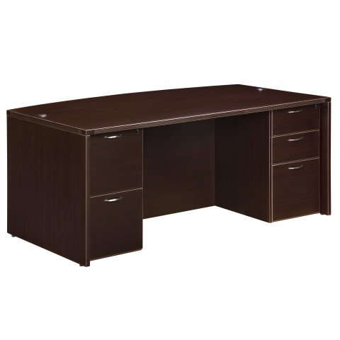 fairplex executive bow front desk point office
