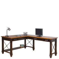Hartford Right Hand Facing Open L Shaped Desk North