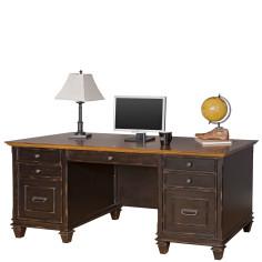 Hartford Double Pedestal Desk North Point Office Furniture